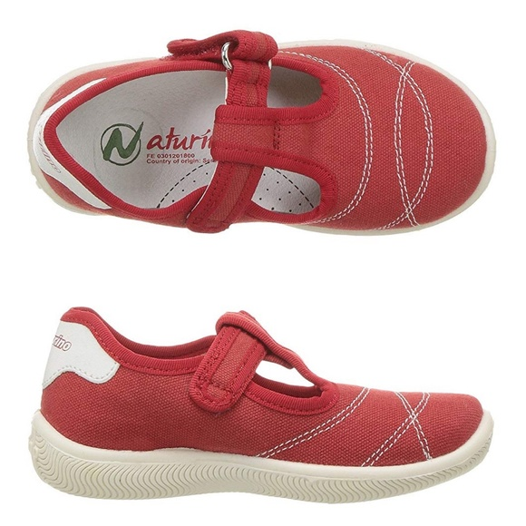 Naturino Other - NEW NATURINO Red Mary Jane Sneakers EU 20 / US 4.5